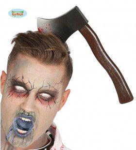 Bijl In Hoofd Halloween