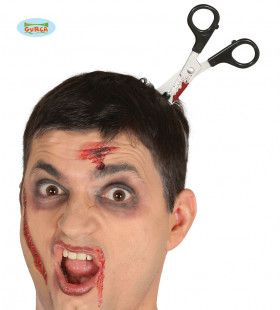 Schaar In Je Hoofd Halloween