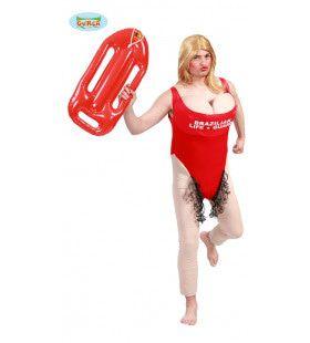 Onsmakelijke Lifeguard Man Kostuum