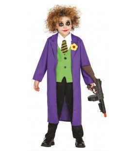 Maffe Gotham City Joker Jongen Kostuum