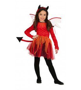 Helse Satan Meisje Kostuum
