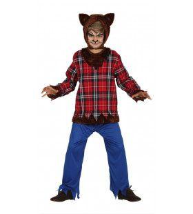 Schotse Weerwolf Jongen Kostuum