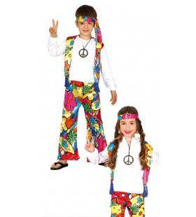 Bloemenkind Hippie Kostuum