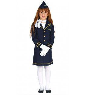Hoog In De Lucht Stewardess Meisje Kostuum