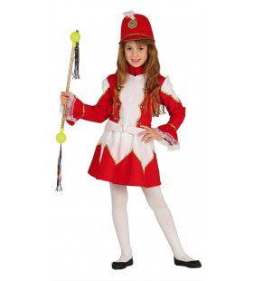 Fanfare Majorette Meisje Kostuum