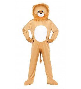 Gruwelijk Grommende Leeuw Man Kostuum
