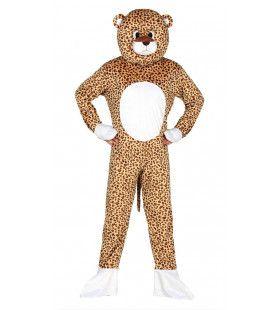 Savanne Luipaard Man Kostuum