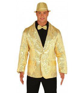 Gouden Lovertjes Colbert Man