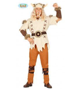 Groenlandse Viking Kasper Man Kostuum