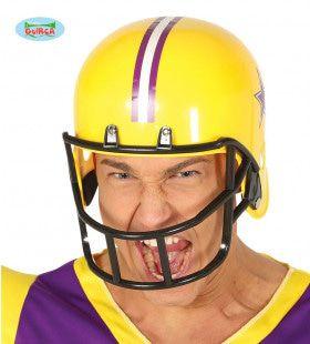 American Football Helm Lonely Star Geel