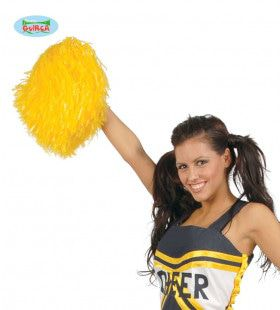 Pompon Cheerleader Geel
