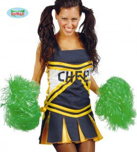 Pompon Cheerleader Groen