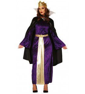 Boze Stiefmoeder Koningin Vrouw Kostuum