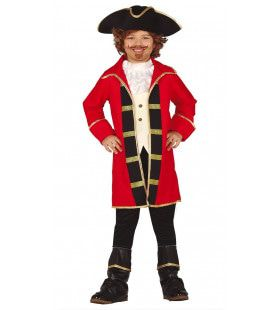 Kampioen Enteren Piraat Jongen Kostuum