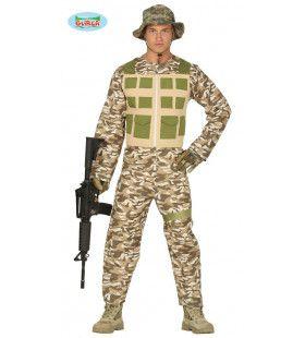 Woestijn Soldaat Midden Oosten Man Kostuum