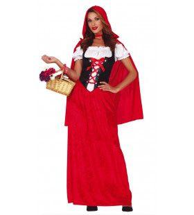 Roodkapje Van Het Stille Woud Vrouw Kostuum