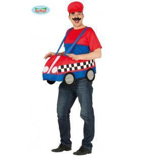 Rijden In Crazy Cars Mario Kostuum