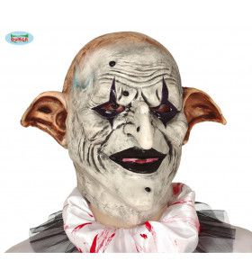 Latex Masker Horror Clown Met Elfen Oren