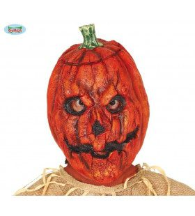 Latex Masker Slecht Uitgesneden Halloween Pompoen