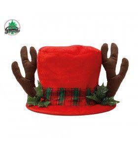 Rode Kersthoed Rendier