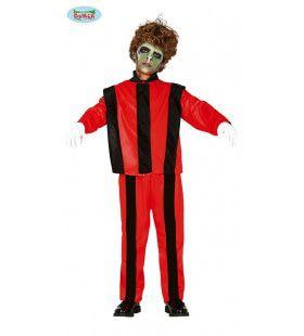 Thriller Zombie Michael Macabere Dans Kind Kostuum