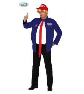 Fake President Groots Amerika Man Kostuum