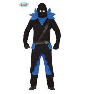 Duistere Computerspel Samoerai Fortnite Man Kostuum