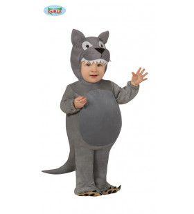 Huilende Wolf Russische Toendra Kind Kostuum