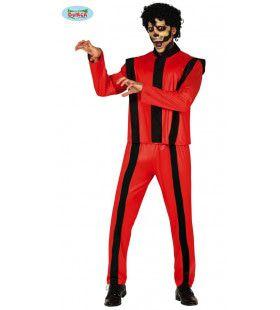 Thriller Zombie Michael Macabere Dans Man Kostuum
