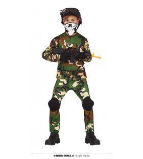 Commando Camo Camiel Jongen Kostuum