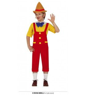 Pop Aan Touwtjes Pinokkio Jongen Kostuum