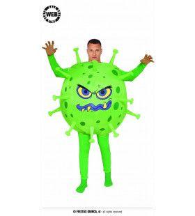 Niet Te Stoppen Groen Virus Kostuum