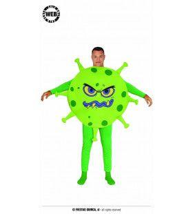 Groen Virus Neemt De Wereld Over Kostuum