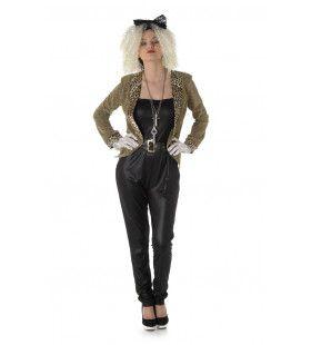 Madonna Jaren 80 Popster Vrouw Kostuum