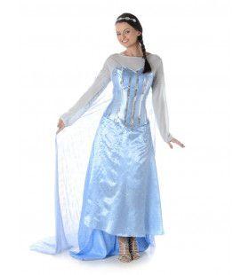 Hartverwarmend Mooi IJsprinses Vrouw Kostuum