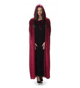 Verleidelijke Gravin Vampirella Cape Vrouw