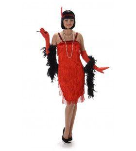Wilde Jaren 20 Charleston Flapper Vrouw Kostuum