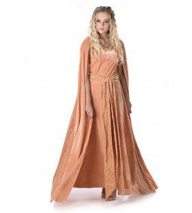 Noorse Koningin Middeleuwen Ingeborg Vrouw Kostuum