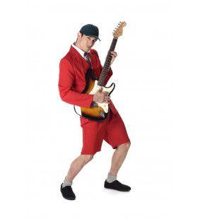 Angus Scholier Ac Dc Rock Man Kostuum