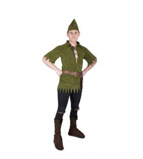 Neverland Peter Pan Man Kostuum