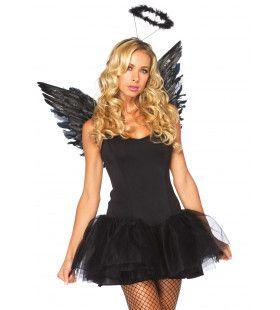 Victorias Vleugels Met Halo Zwart