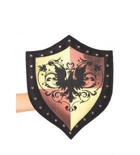 Tas In Vorm Middeleeuws Schild