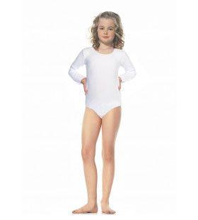 Meisjes Bodysuit Wit Kostuum