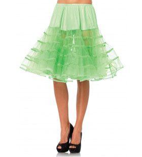 Medium Lange Petticoat Groen