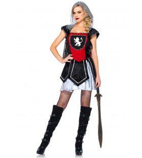 Sexy Ridderdame Vrouw Kostuum