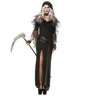 Sexy Vrouwelijke Dood Kostuum