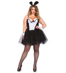 Shapewear Sexy Bunny Mw P-Boy (Plus Size) Vrouw Kostuum