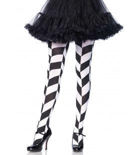 Zwart-Witte Panty