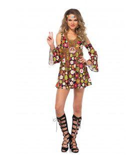 Woodstock Bloemen Hippie Vrouw Kostuum