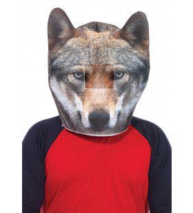 Eenzame Wolf Masker